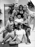 Comedian Benny Hill with His Hill's Angels Poster