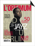 L'Optimum, November 2009 - Jay-Z Posters by Patrick Swirc