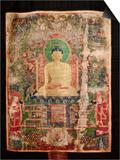 Thangkas, or Scrolls, Chemrey Monastery, Ladakh, India Prints by Jaina Mishra