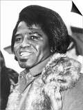 James Brown American Soul Singer Plakater