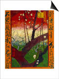 Flowering Plum Tree (After Hiroshige) Prints by Vincent van Gogh