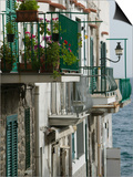 Building Detail, Ischia, Bay of Naples, Campania, Italy Prints by Walter Bibikow