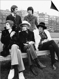 Rolling Stones Mick Jagger Brian Jones, Bill Wyman Keith Richards Charlie Watts Print
