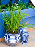 Colorful Ceramic Pots, San Miguel De Allende, Guanajuato State, Mexico Poster af Julie Eggers