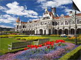 Historic Railway Station, Dunedin, South Island, New Zealand Prints by David Wall