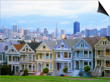 Alamo Square Park, San Francisco, California, USA Posters by John Alves