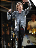 Mick Jagger in Action at Rolling Stones in Concert at Twickenham, August 2006 Art