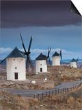 La Mancha Windmills, Consuegra, Castile-La Mancha Region, Spain Posters by Walter Bibikow