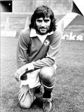 George Best Manchester United Footballer 1972 Poster