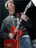Noel Gallagher Live on Stage at the Coachella Music Festival in Palm Springs California Prints