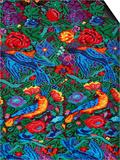 Traditional Textiles, Textile Museum, Casa del Tejido, Antigua, Guatemala Posters af Cindy Miller Hopkins