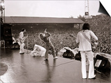 The Who in Concert, Roger Daltry Singing at the Charlton Athletic Football Club Ground, May 1976 Láminas