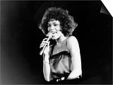 Whitney Houston at Her First British Date April 1988 Plakater
