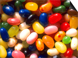 Close Up Jelly Beans Carbohydrate Sweets Prints