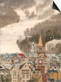 Mont Tremblant Ski Village in The Laurentians, Quebec, Canada Posters by Walter Bibikow
