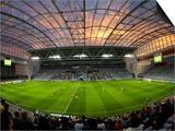 Football Game, Forsyth Barr Stadium, Dunedin, South Island, New Zealand - Fisheye Prints by David Wall