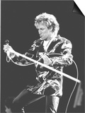 Veteran Rocker Rod Stewart Went Down a Storn at Wembley Stadium on 15 July 1986 Prints