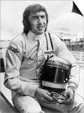 Racing Driver Jackie Stewart Poster