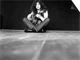 Jimmy Page of Band Led Zeppelin, January 1970 Art