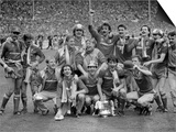 Liverpool Fc After Winning the FA Cup 1986 Liverpool V Everton at Wembley Liverpool 3 Everton 1 Prints