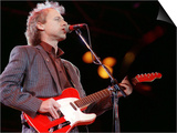 Mark Knopfler of Dire Straits at Nelson Mandela's 70th Birthday, June 1988 Posters