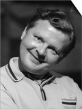 Comedian Benny Hill in 1968 Prints