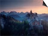 Neuschwanstein Castle, Germany Posters by Russell Gordon