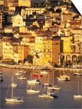 Villefranche-sur-Mer, Cote d'Azur, France Poster by David Barnes