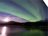 Aurora Borealis, Koyukuk River, Alaska, USA Prints by Hugh Rose