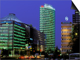 New Buildings, Potsdamer Platz, Berlin, Germany Poster by Walter Bibikow
