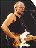 Sting in Concert at the Newcastle Arena, 24th November 1996 Plakater