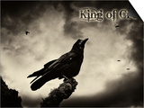 King of Crows Art by  Exploding Art