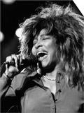 Tina Turner Singer in Concert 1987 Kunstdrucke