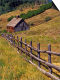 Barn on Last Dollar Road near Telluride, Colorado, USA Prints by Julie Eggers