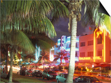 Colorful Street Life, South Beach, Miami, Florida, USA Prints by Stuart Westmoreland