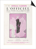 L'Officiel, June 1925 - Fleur Étrange Prints by  Drecoll