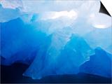 Iceberg Near Monacobreen Glacier in Liefdefjorden Fjord, Spitsbergen Island, Svalbard, Norway Prints by Paul Souders