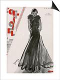 L'Officiel, June 1932 - Création Chanel Art by  Drian
