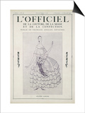 L'Officiel, November-December 1922 Prints by Jeanne Lanvin