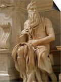 Tomb of Pope Julius Ii. Church of Saint Pietro in Vincoli, Rome, Italy Prints by  Prisma Archivo