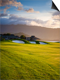 Makai Golf Course, Kauai, Hawaii, USA Posters by Micah Wright