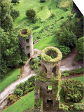 High Angle View of Towers, Blarney Castle, County Cork, Ireland Posters by Miva Stock