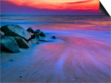 Sunset on Delaware Bay, Cape May, New Jersey, Usa Art by Jay O'brien
