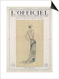 L'Officiel, September-October 1923 - Création Jeanne Lanvin Prints by Jeanne Lanvin
