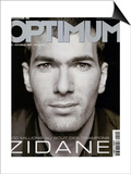 L'Optimum, September 2001 - Zinedine Zidane Posters by François Darmigny