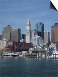 Boston Harbor, Long Wharf, Boston, Massachusetts, New England, Usa Prints by Jim Engelbrecht