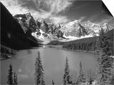 Wenkchemna Peaks Reflected in Moraine Lake, Banff National Park, Alberta, Canada Prints by Adam Jones