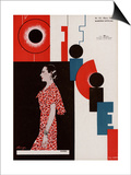L'Officiel, March 1934 - Chanel Posters by Lbengini & A.P. Covillot