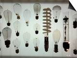 Old Light Bulbs, Dibner Hall, History of Science, Huntington Library, Pasadena, California, Usa Posters by Bruce Yuanyue Bi