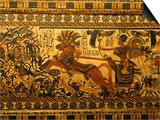 Painted Box, Tomb King Tutankhamun, Valley of the Kings, Egypt Plakat af Kenneth Garrett